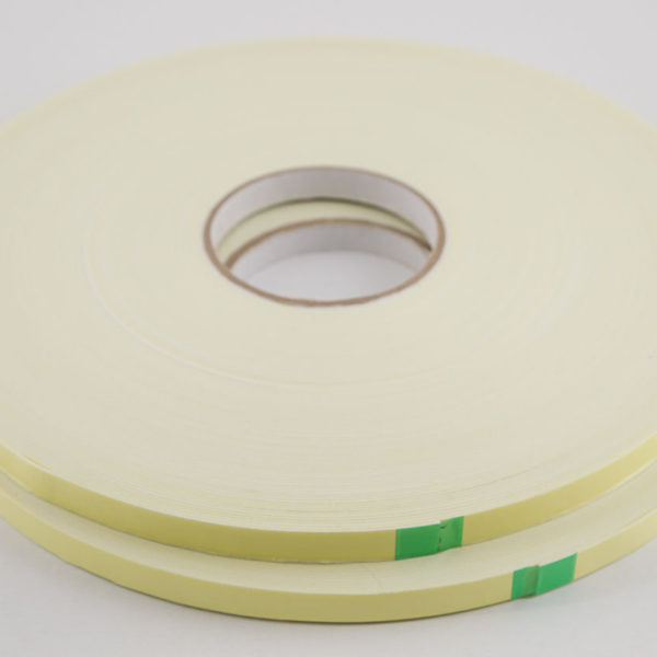 25 Rolls Double Sided White Foam Tape – 12 mm x 50 m x 1 mm thick